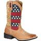 Durango Mustang Women's Pull-On Patriotic Western Boot, , small