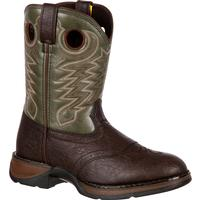 Lil' Durango Big Kid Saddle Western Boots, , medium