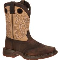Lil' Durango Big Kid Saddle Western Boot, , medium