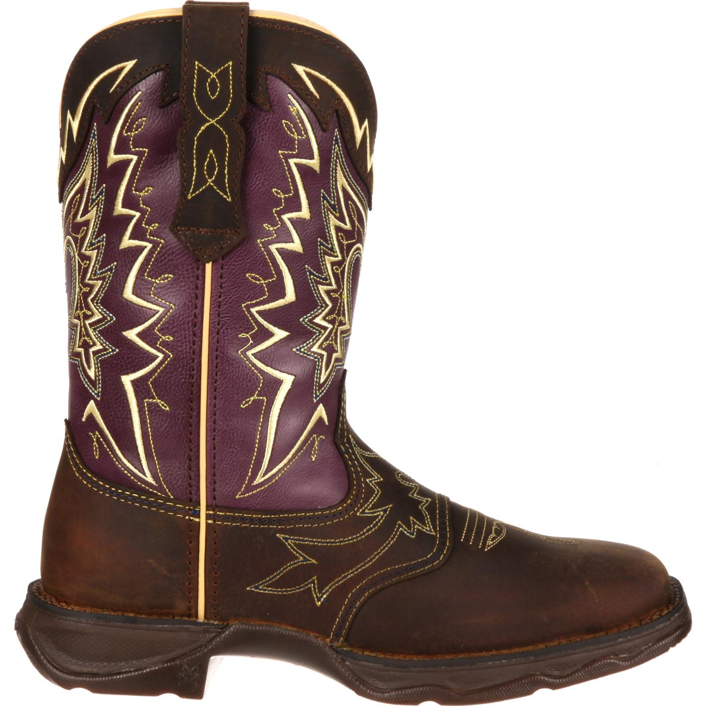 Images. Lady Rebel by Durango Women's Let Love Fly Western Boot ...
