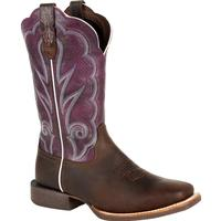 Durango® Lady Rebel Pro™ Women's Ventilated Plum Western Boot, , medium