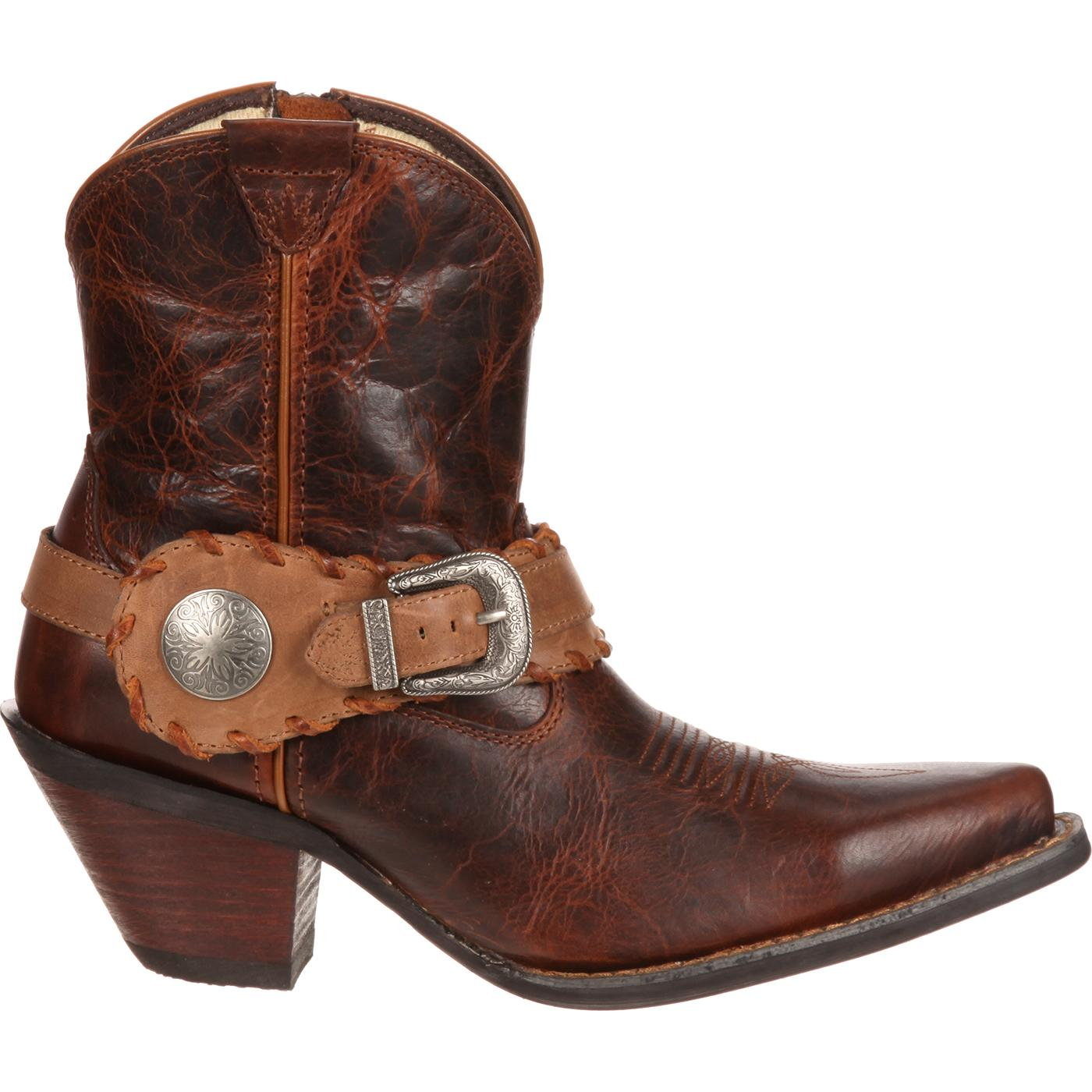 81dfb647c8f Images. Crush by Durango Women's Spur Strap Demi Western Boot ...