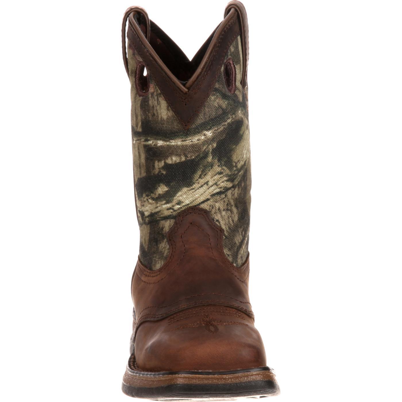 53132d537e4 Lil' Durango Little Kid Camo Saddle Western Boot