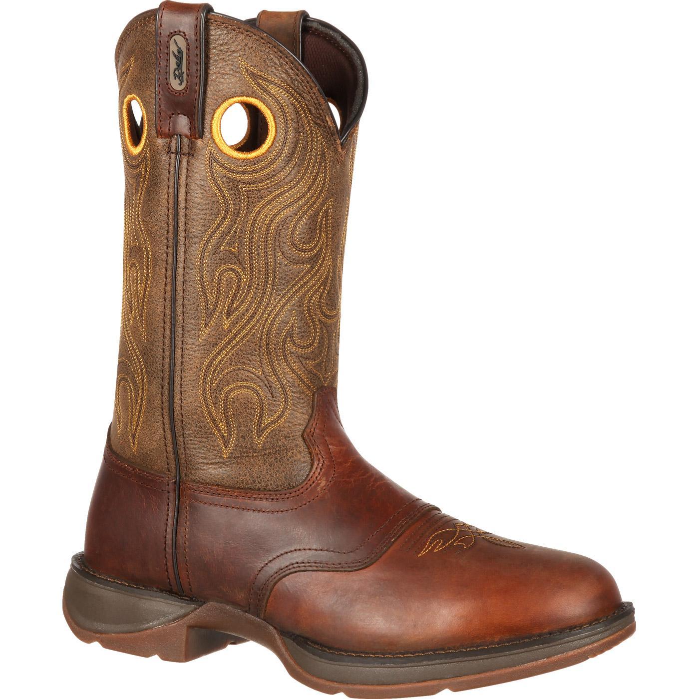 Rebel by Durango Brown Saddle Western Boot large
