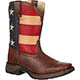 LIL' DURANGO® Kid's Patriotic Western Flag Boot, , small