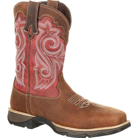 Lady Rebel by Durango Women's Waterproof Composite Toe Western Work Boot, , large