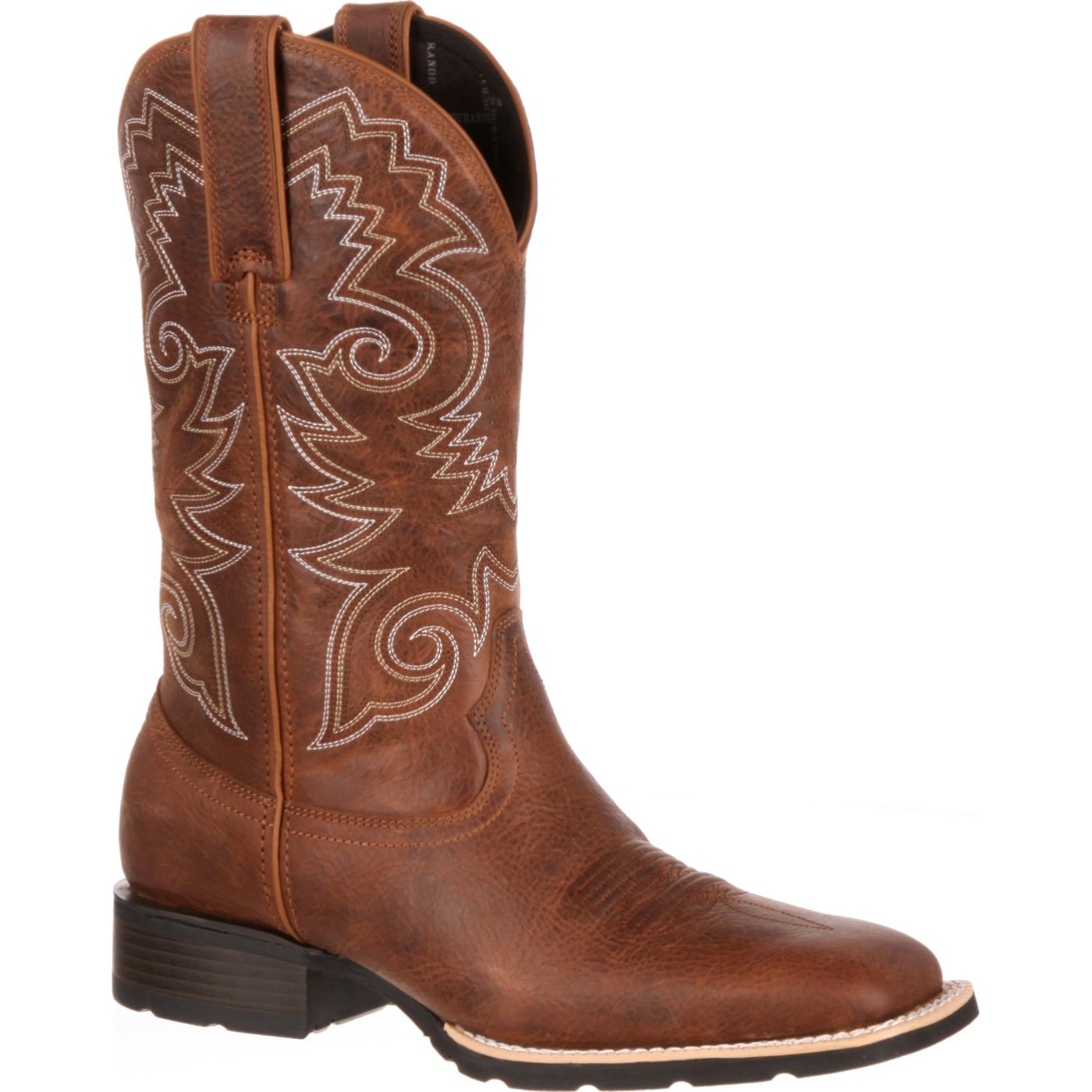 durango mustang s brown cowboy boot ddb0082