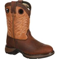 Lil' Durango Big Kid Raindrop Western Boot, , medium