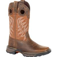 Lil' Durango® Maverick XP™ Big Kids Brown Western Work Boot, , medium
