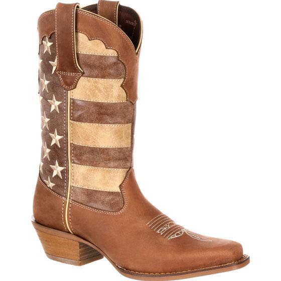 c735212244 Crush by Durango Women s Distressed Flag Boot