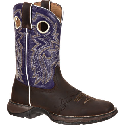 Lady Rebel by Durango Women's Twilight n' Lace Saddle Western Boot, , large