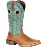 Durango® Lady Rebel Pro™ Women's Teal Western Boot, , medium