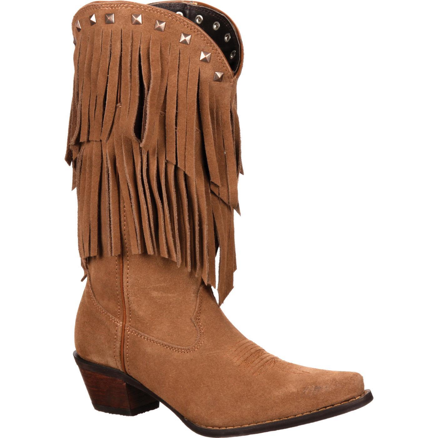 Crush By Durango Women S Fringe Western Boot Dcrd150