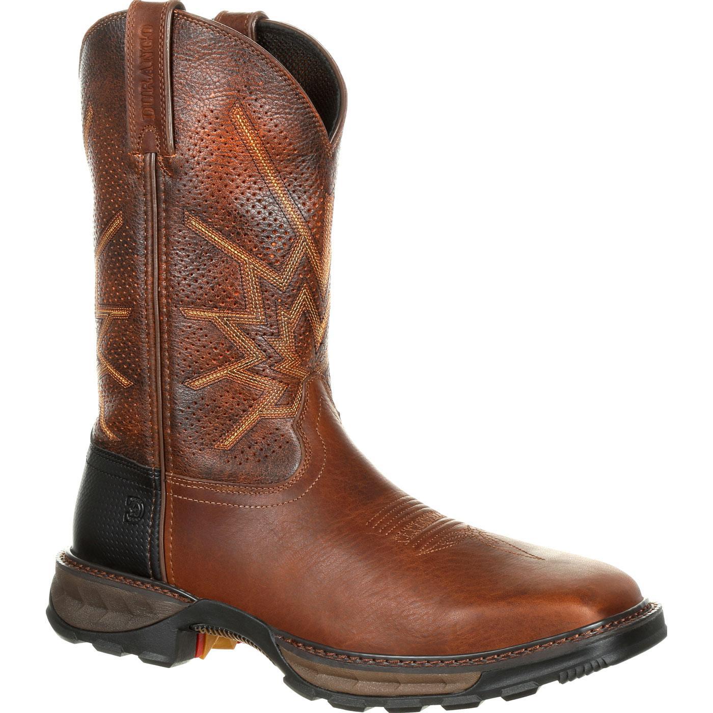 Durango Maverick Xp Steel Toe Ventilated Pull On Work Boot