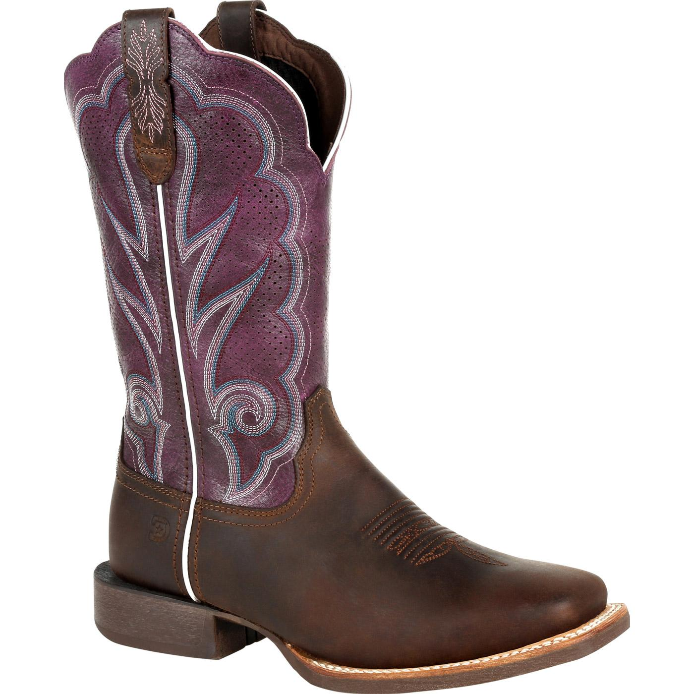 coupon code hot sales offer discounts Durango® Lady Rebel Pro™ Women's Ventilated Plum Western Boot