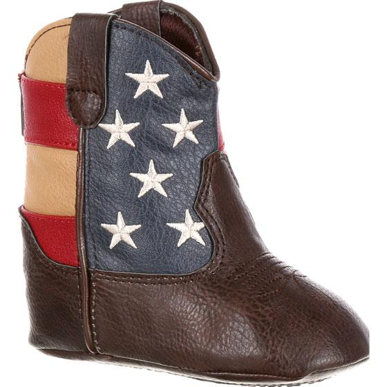 reputable site f2f33 87b1a Durango® Baby Western Flag Boot