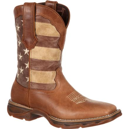 Lady Rebel™ by Durango® Women's Faded Union Flag Western Boot