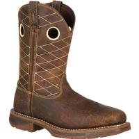 Workin' Rebel™ by Durango® Brown Composite Toe, , medium