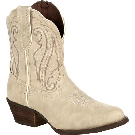 Crush™ by Durango® Women's Taupe Shortie Western Boot