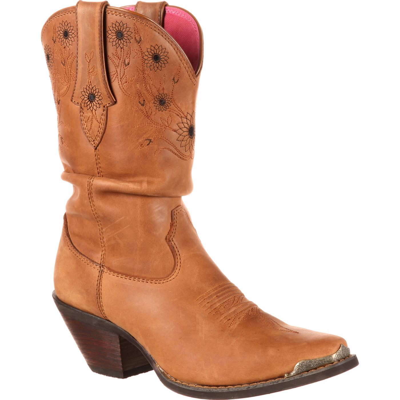 bbc7e04ebae Crush by Durango Women's Sarah Darling Sunflower Slouch Western Boot
