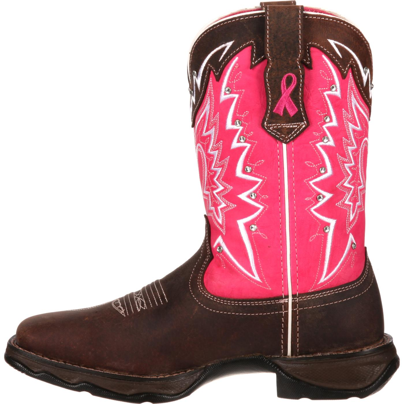 Durango Pink Ribbon Lady Rebel ... Women's Cowboy Boots OwhRBb