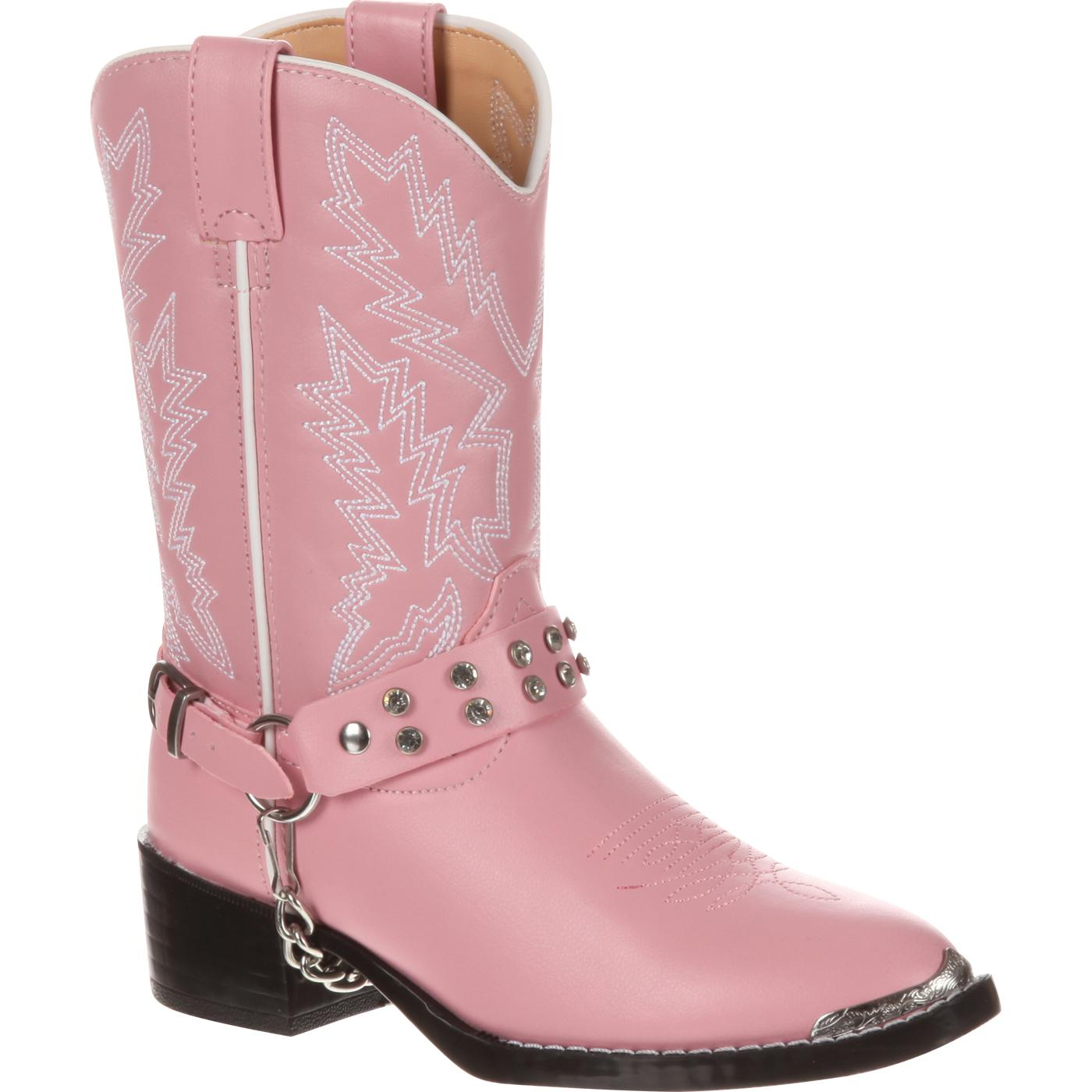 d70c21d32c5993 Durango Kid s Pink Rhinestone Western Boots - Style  BT568
