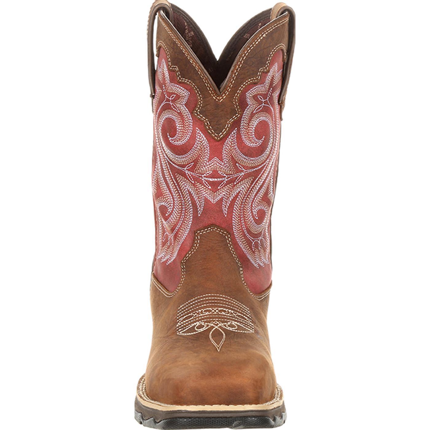 3720e0fffa3 Lady Rebel by Durango Women's Waterproof Composite Toe Western Work Boot
