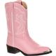 Durango Toddler Dusty Pink & Chrome Western Boot, , small