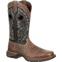 Rebel by Durango Faux Exotic Western Boot, , medium