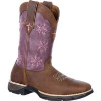 Lady Rebel by Durango Women's Cross Stitch Western Boot, , medium