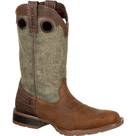 Durango Mustang Faux Exotic Western Boot, , large