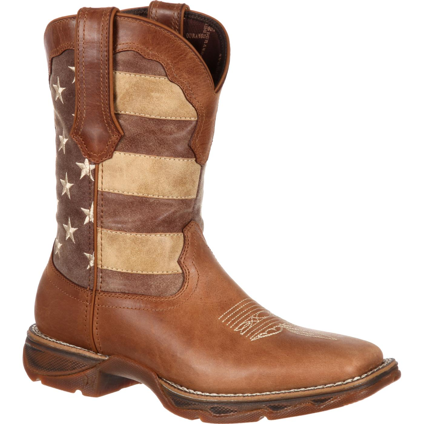 Women's DRD0107 Boot Brown/Faded Union Flag 9 M US