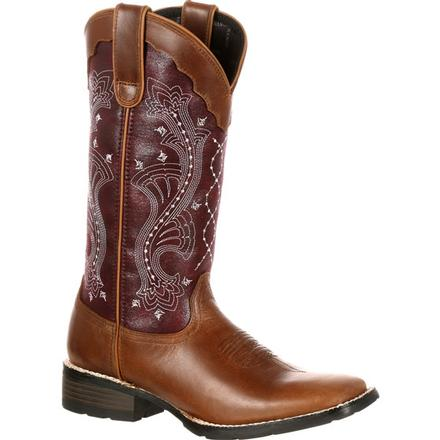 Durango Mustang Women's Pull-On Western Boot, , large