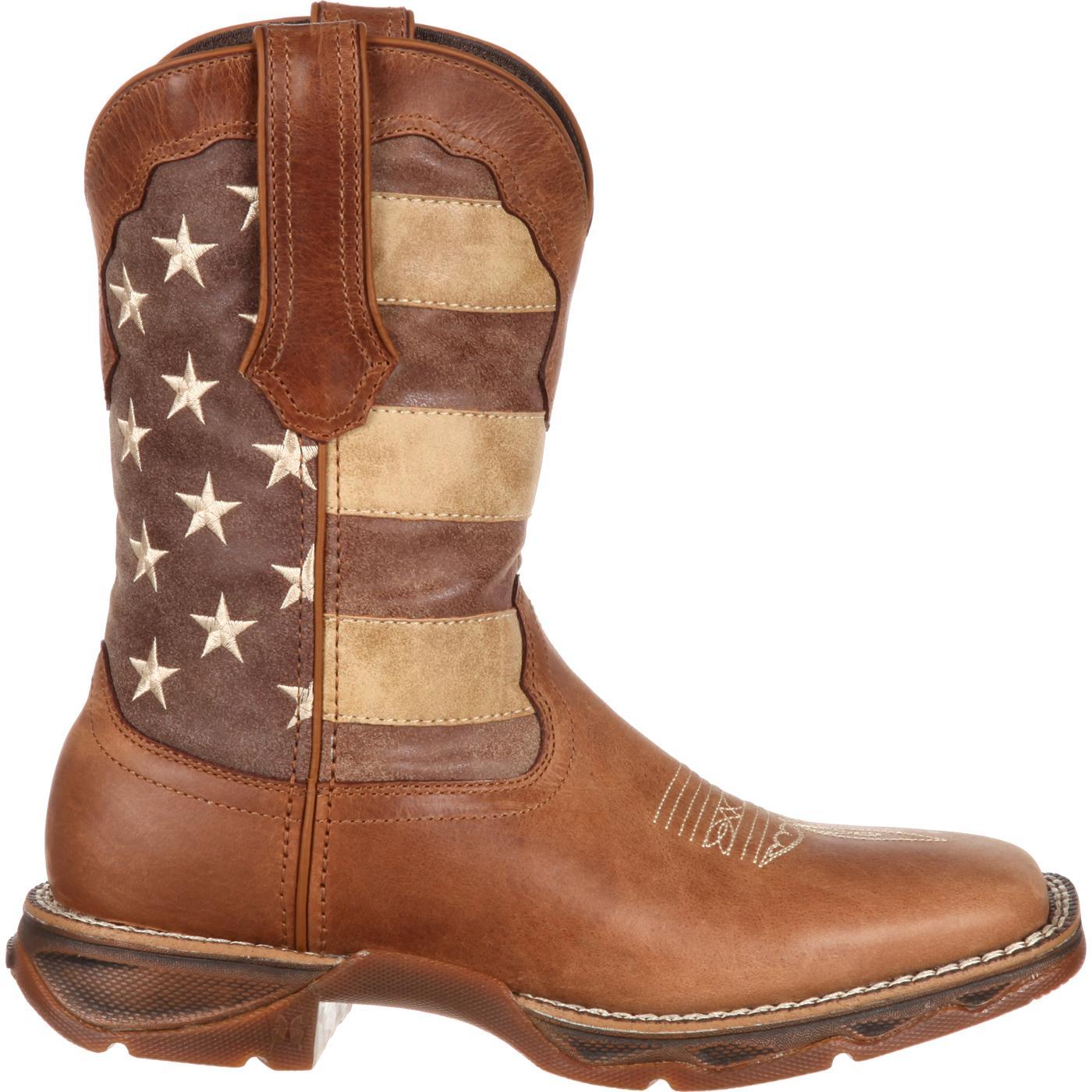 DURANGO® Rebel Faded Union Flag Western Boot u7NJDeVqo
