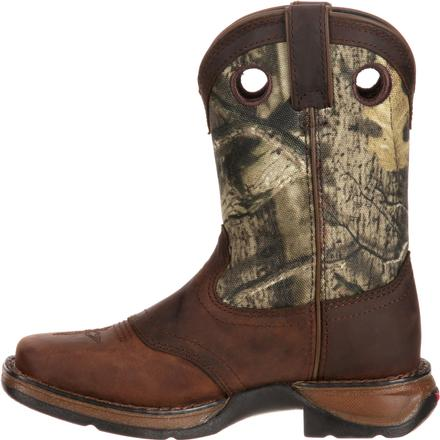 LIL' DURANGO® Little Kid Camo Saddle Western Boot, , large