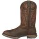 Rebel by Durango Chocolate Pull-On Western Boot, , small