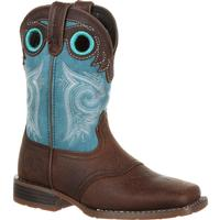Durango Lil' Mustang Big Kids Western Saddle Boot, , medium