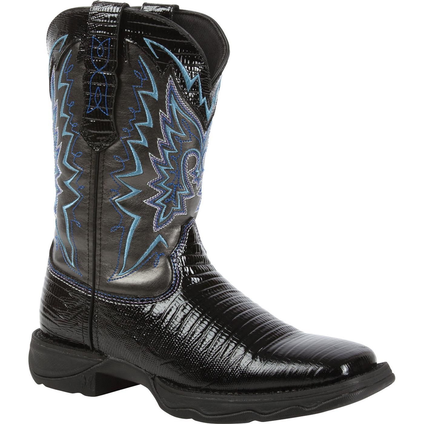 Lady Rebel By Durango Women S Snake Oil Western Boots