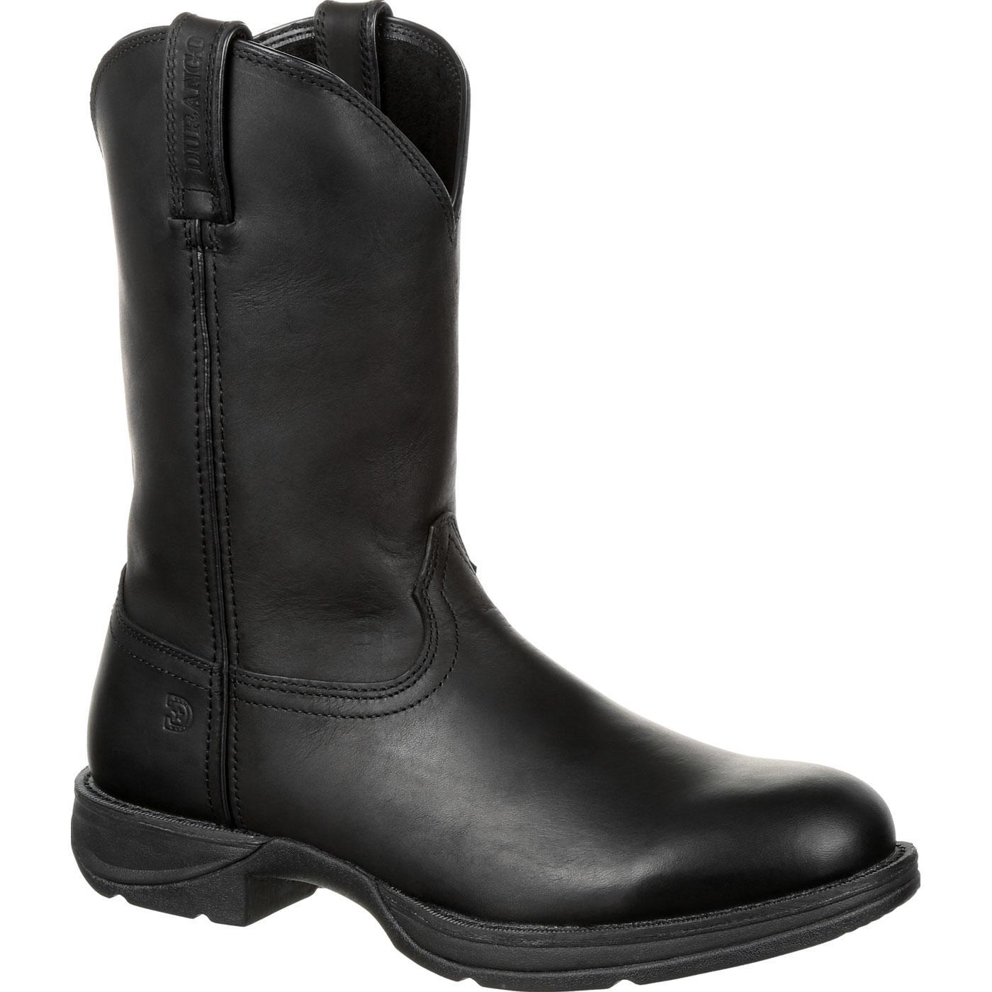 Rebel by Durango Black Round Toe Western Boot, , large