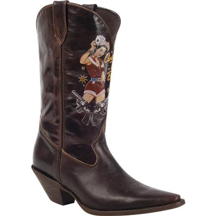 Crush by Durango Women's Pin Up Western Boot, , large