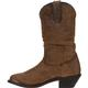 Durango Women's Distressed Tan Slouch Western Boot, , small