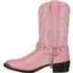 Durango® Big Kid Pink Rhinestone Western Boot, , small