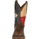 Rebel by Durango Steel Toe Texas Flag Western Boot, , small
