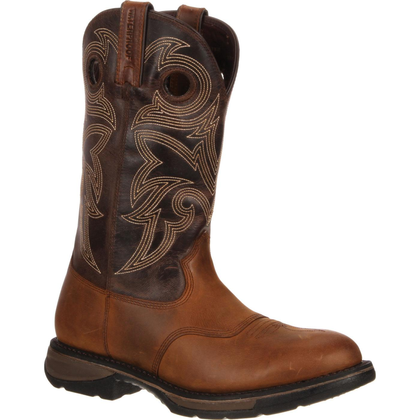 Workin' Rebel by Durango Waterproof Western Boot, DDB0064