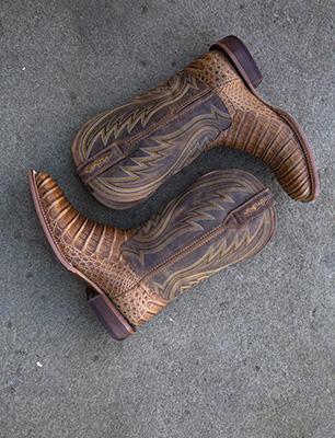 Boots on Concrete