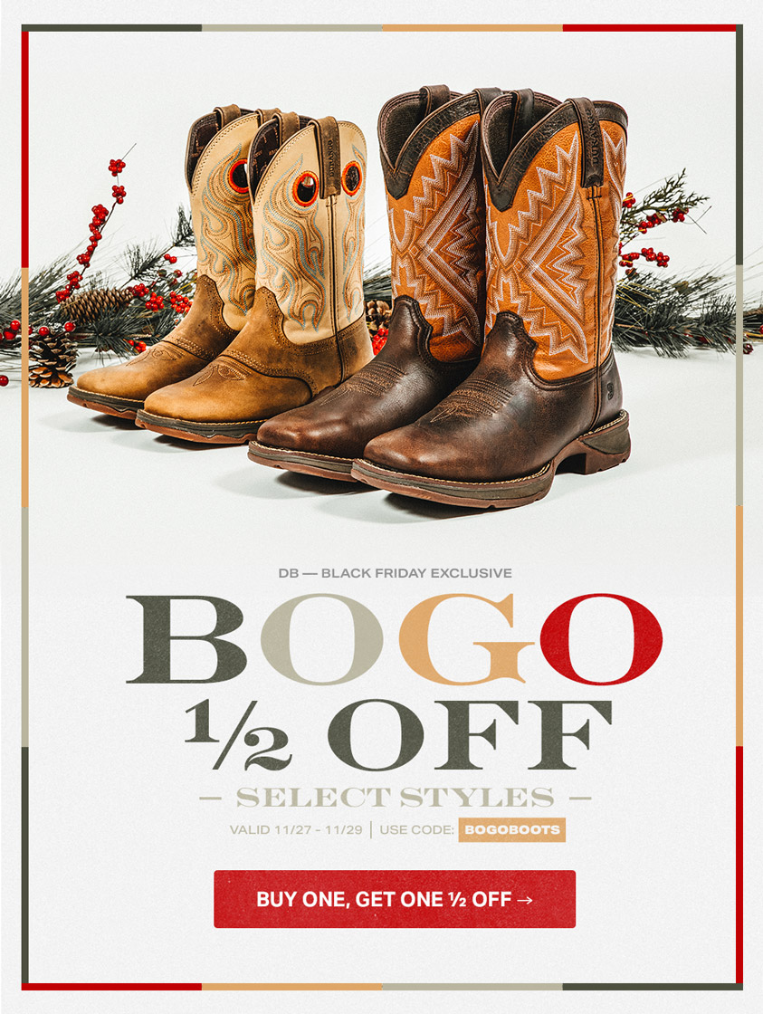 Black Friday Exclusive | BOGO ½ Off Select Styles