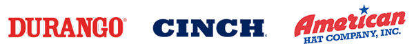 Durango®   American Hat Company, Inc.   CINCH®