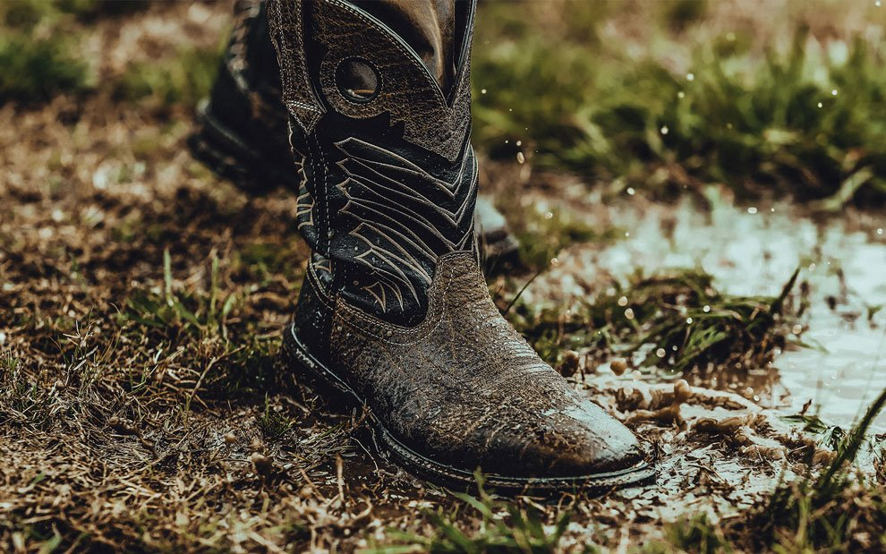 durango best waterproof western boots in mud